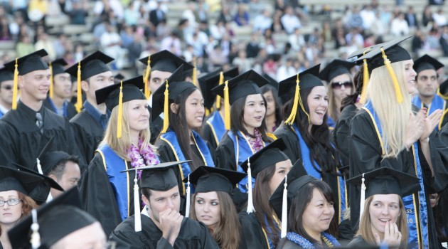 UCLA College of Letters & Sciences Graduation - 2010