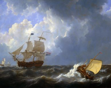 schepen_op_onstuimige_zee_-_ships_on_a_rough_sea_johannes_christiaan_schotel_1827-1